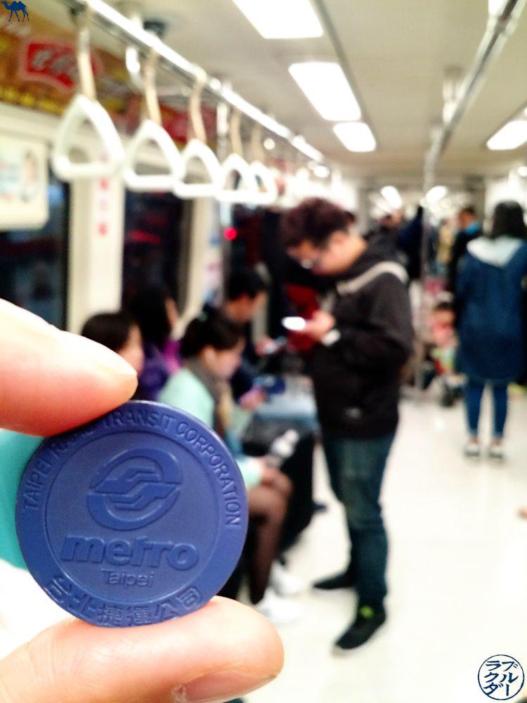 Le Chameau Bleu - Metro de Taipei - Transport à Taiwan