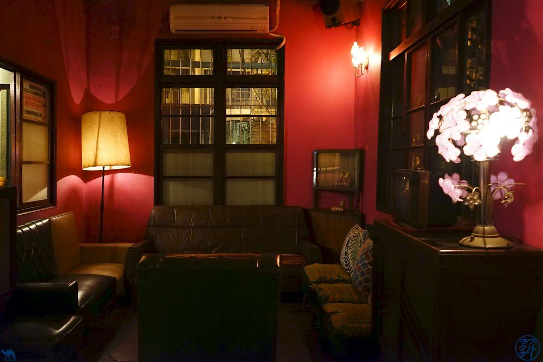Le Chameau Bleu- Blog Voyage Taiwan-Salle du Bar Kinks Tainan