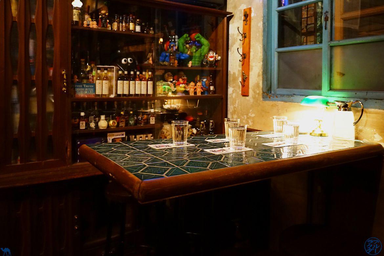 Le Chameau Bleu - Blog Voyage Tainan Taiwan - Intérieur Bar TRCR