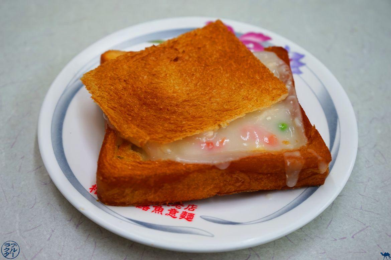 Le Chameau Bleu - Blog Voyage Tainan Taiwan - Spécialité culinaire - Coffin Bread