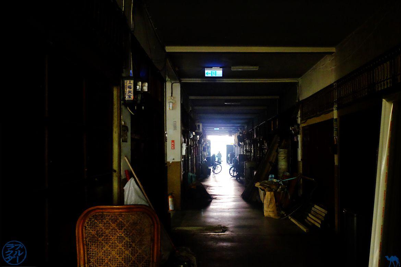 Le Chameau bleu - Blog Voyage Tainan - Marché Yongle Dédale