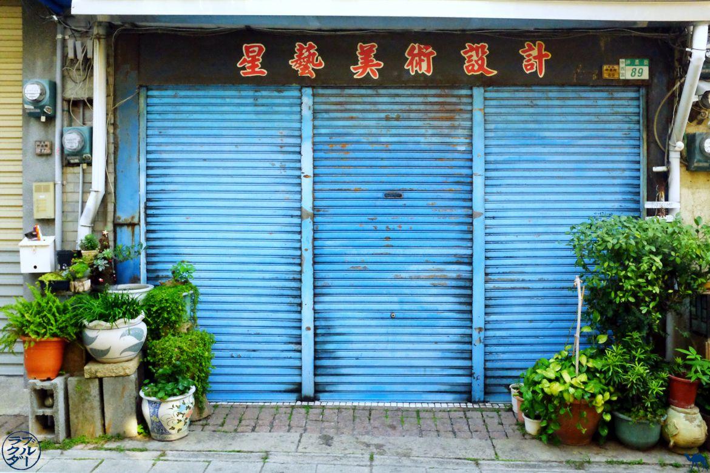 Le Chameau Bleu - Blog Voyage Taiwan- Devanture Tainan