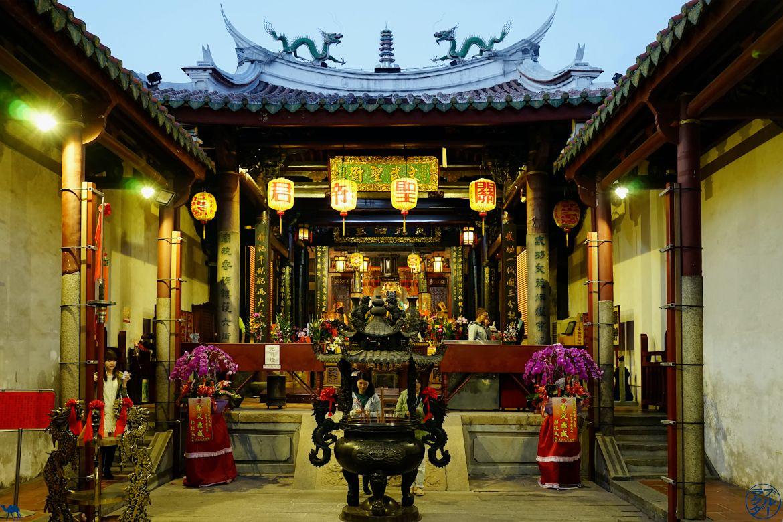Le Chameau Bleu Blog Voyage Taiwan -Interieur Temple de Tainan