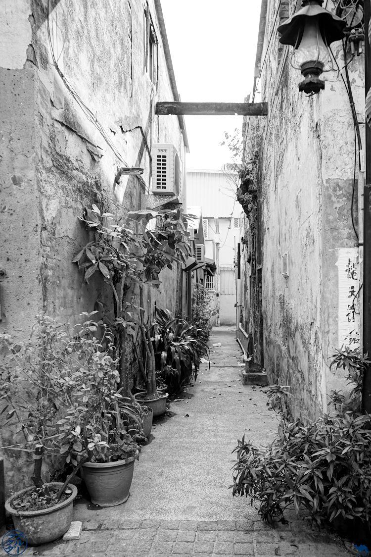 Le Chameau Bleu - Blog Voyage Taiwan - Ruelle de Tainan