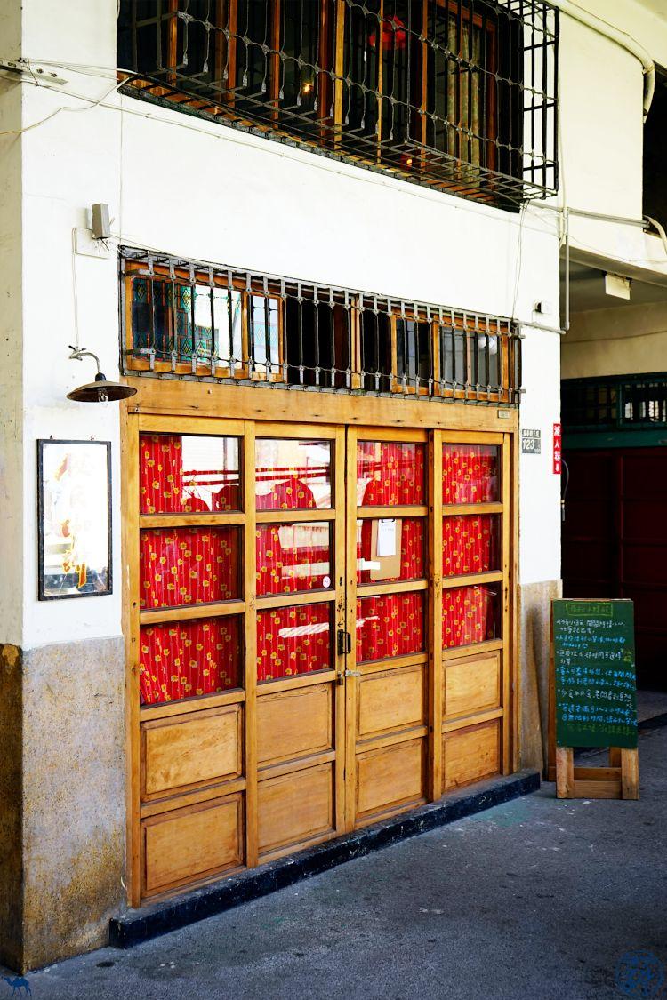 Le Chameau bleu - Blog Voyage Taiwan - Salon de Thé Marché Tainan
