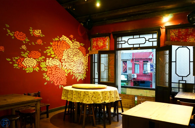 Le Chameau Bleu - Blog Voyage Tainan - Restaurant Shikan Peddler's noodle