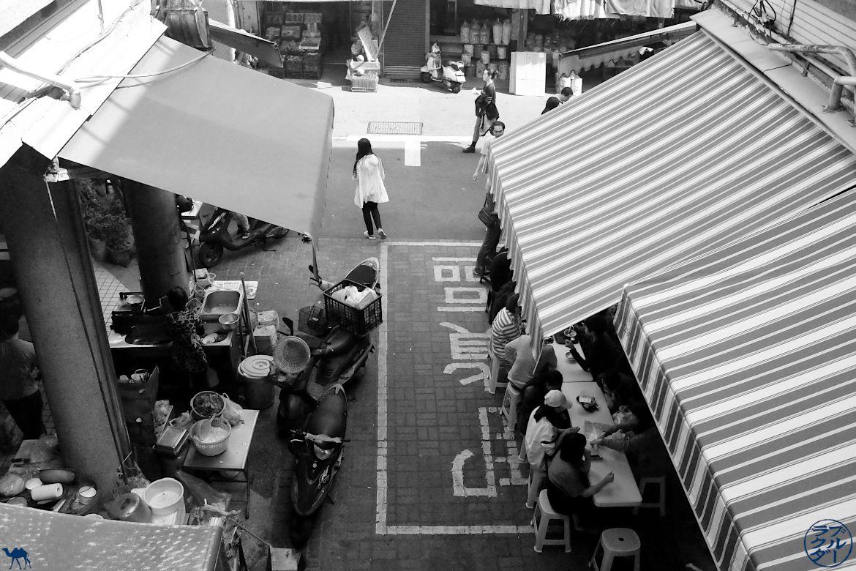 Le Chameau bleu - Blog Voyage Tainan - Marché Yongle Taiwan