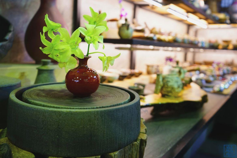 Le Chameau Bleu - Blog Voyage Taiwan -Taipei - Taiwan - Marché aux fleurs - Ikebana