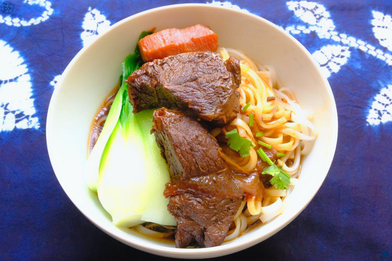 Le Chameau Bleu - Blog Gastronomie et Voyage - Taiwanese Beef Noodle Recipe