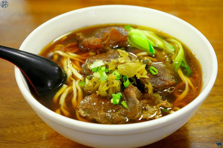 Le Chameau Bleu - Blog Gastronomie et Voyage - Voyage à Taiwan - Taiwanese Beef Noodle à Taitung