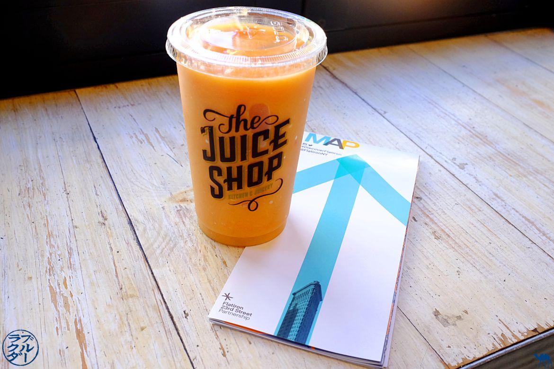 Le Chameau Bleu - Blog Voyage New York City - Bar à Jus The Juice Shop à New Yok - Pink lady