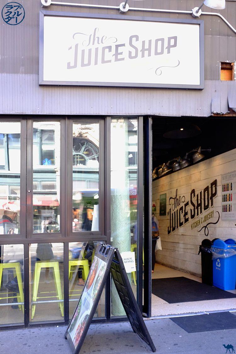 Le Chameau Bleu - Blog Voyage New York City - Le Bar à Jus The Juice Shop à New York