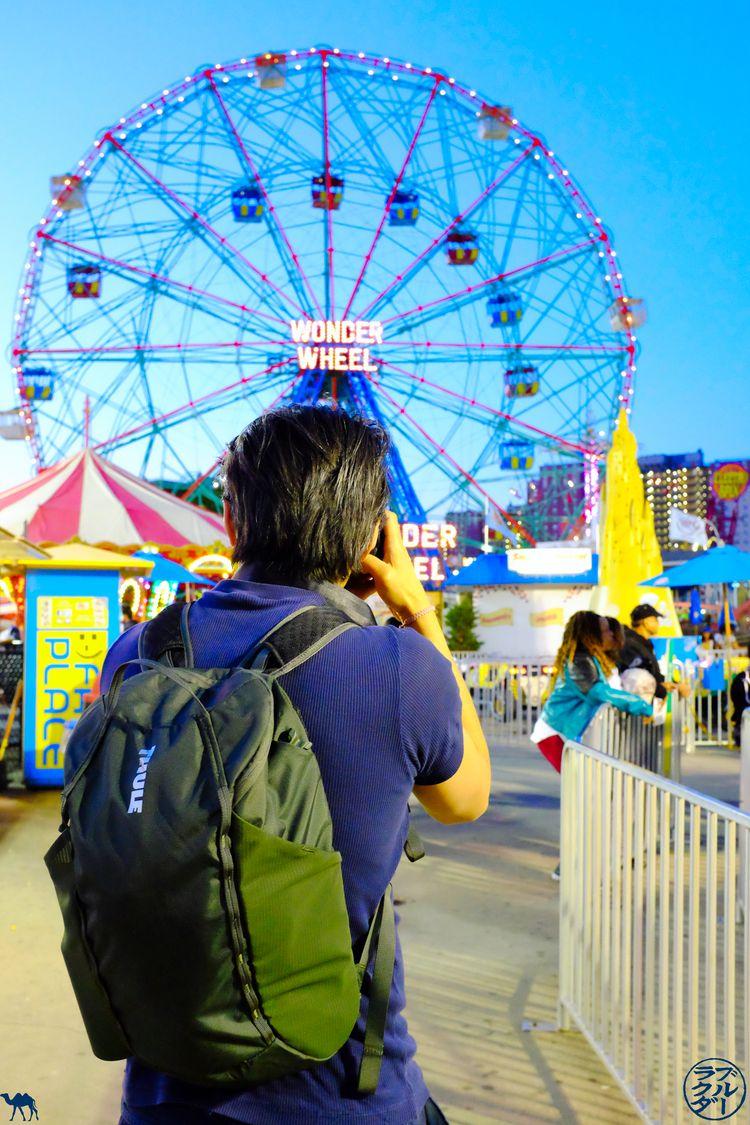 Le Chameau Bleu - Blog Voyage - Test Landmark a Coney Island
