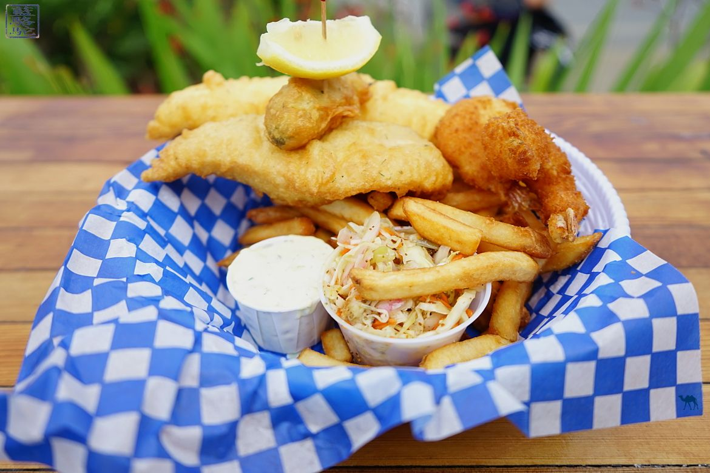 Le Chameau Bleu -Blog Voyage Tofino Canada -Restaurant Big d'addy's fish fry Tofino Canada