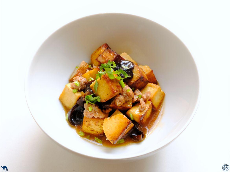 Le Chameau Bleu - Blog Cuisine - Recette de Tofu Sauté et Porc Haché