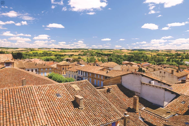 Le Chameau Bleu - Blog Voyage et Cuisine - Toits de Beaumont de Lomagne - Tarn et Garonne