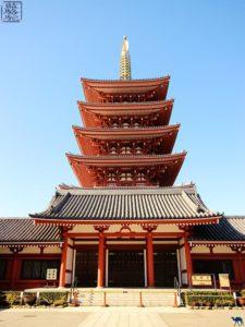 Le Chameau Bleu - Blog Voyage Japon - Voyage au Japon - visite des temps d'Asakusa