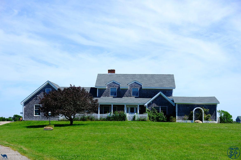 Le Chameau Bleu - Blog Voyage Block Island - Maisons de Block Island