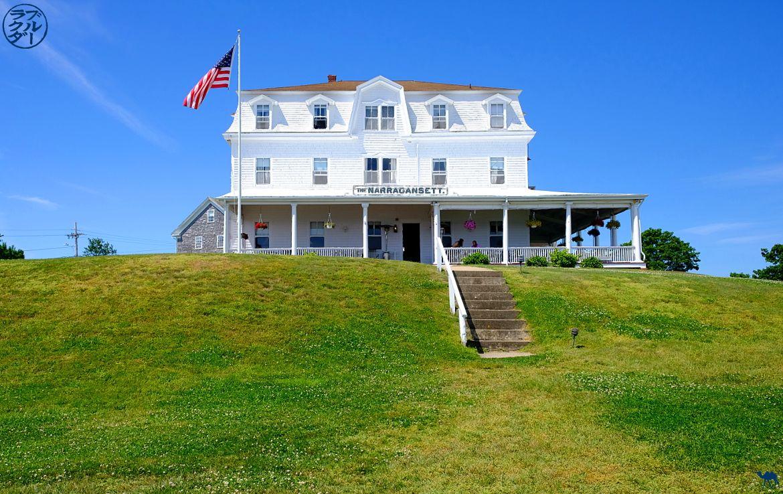 Le Chameau Bleu - Blog Voyage Block Island - Narragansett Hotel sur Block Island
