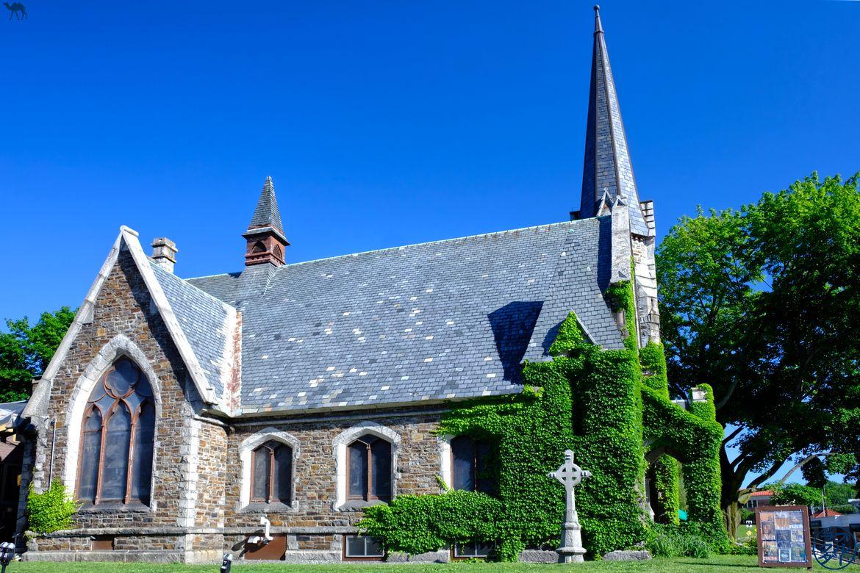 Le Chameau Bleu - Blog Voyage Brattleboro Vermont USA -Eglise de Brattleboro