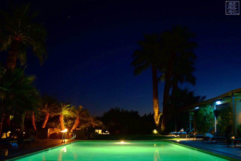 Le Chameau Bleu Blog Voyage Joshua Park - Roadtrip dans Joshua Park en Californie du Sud - The Spring la nuit