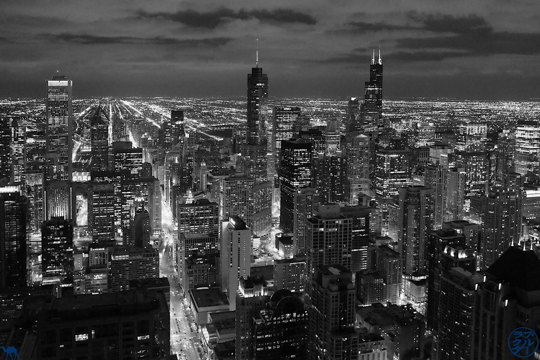 Le Chameau Bleu - Blog Voyage Chicago USA - Vue depuis les gratte ciel de Chicago - Séjour à Chicago USA