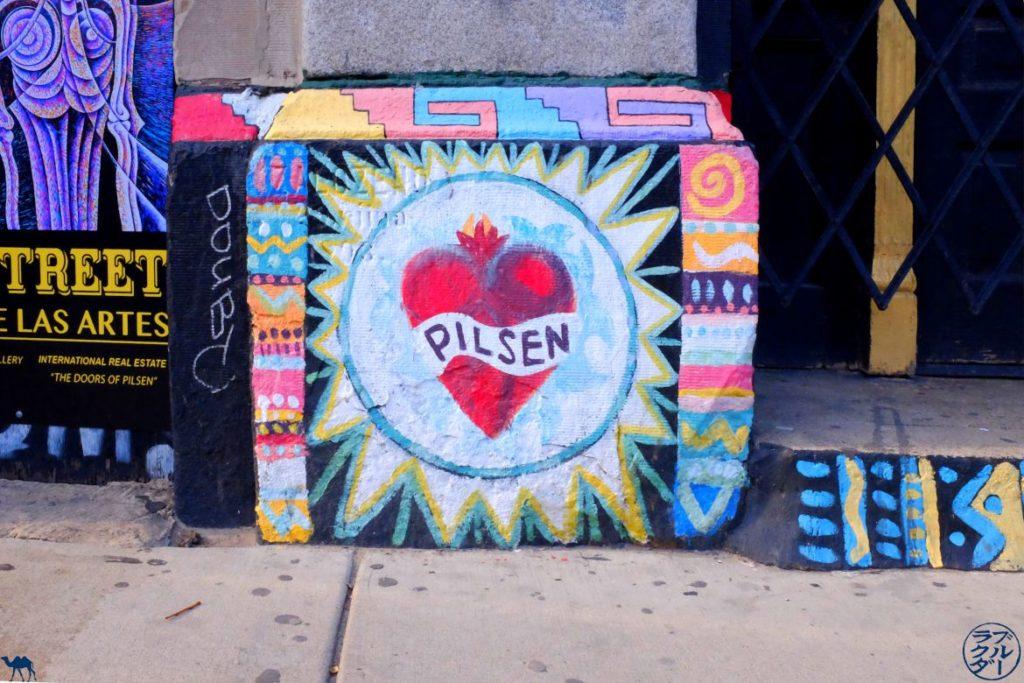 Le Chameau Bleu - Blog Voyage Chicago - Pilsen Quartier de Chicago illinois