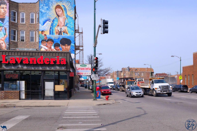 Le Chameau Bleu - Blog Voyage Chicago - Rue de Pilsen