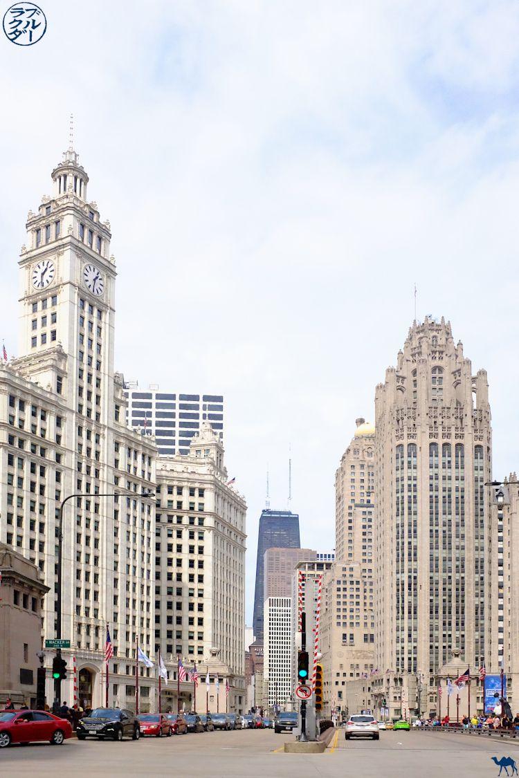 Le Chameau Bleu - Blog Voyage Chicago USA - Wrigley Building - Voyage à Chicago Illinois USA