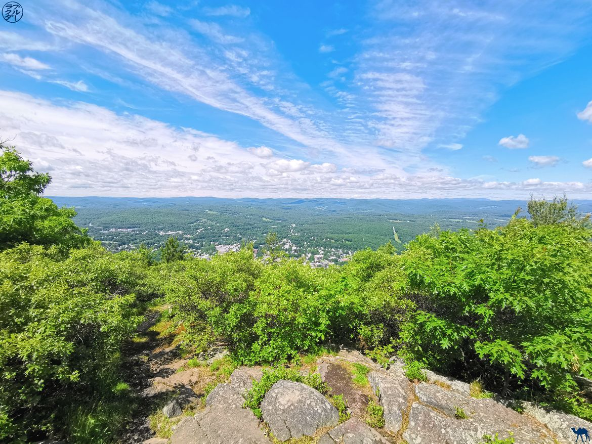 Le Chameau Bleu - Blog Voyage Etats unis - New Hampshire Wantastiquet Mountain