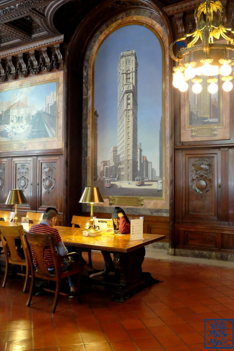 Le Chameau Bleu - Blog Voyage New York City New York - Salle de NYPL