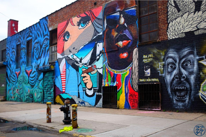 Le Chameau Bleu - Blog Voyage New York City Street Art - Eye of the Tiger - Visite de Bushwick Brooklyn New York
