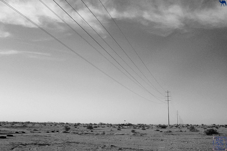 Le Chameau Bleu - Blog Voyage Californie -Paysage de Salton Sea Californie du Sud USA