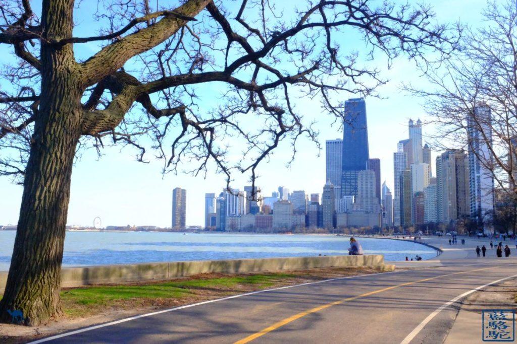 Le Chameau Bleu - Blog Chicago - From North Avenue Beach - Tourisme à Chicago