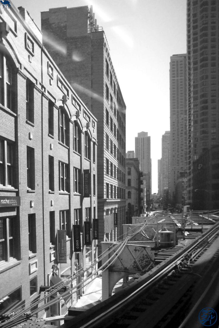 Le Chameau Bleu - Chicago et L train métro de chicago