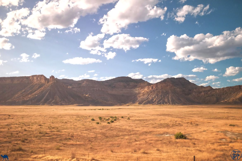 Le Chameau Bleu Blog Voyage Train USA - Paysage du Zephyr Line Train Amtrak