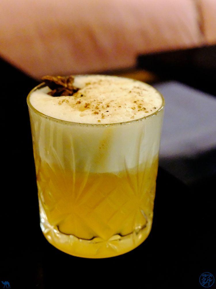 Le Chameau Bleu - Blog Voyage et Gastronomie. - Cocktail du Restaurant Uma à Paris