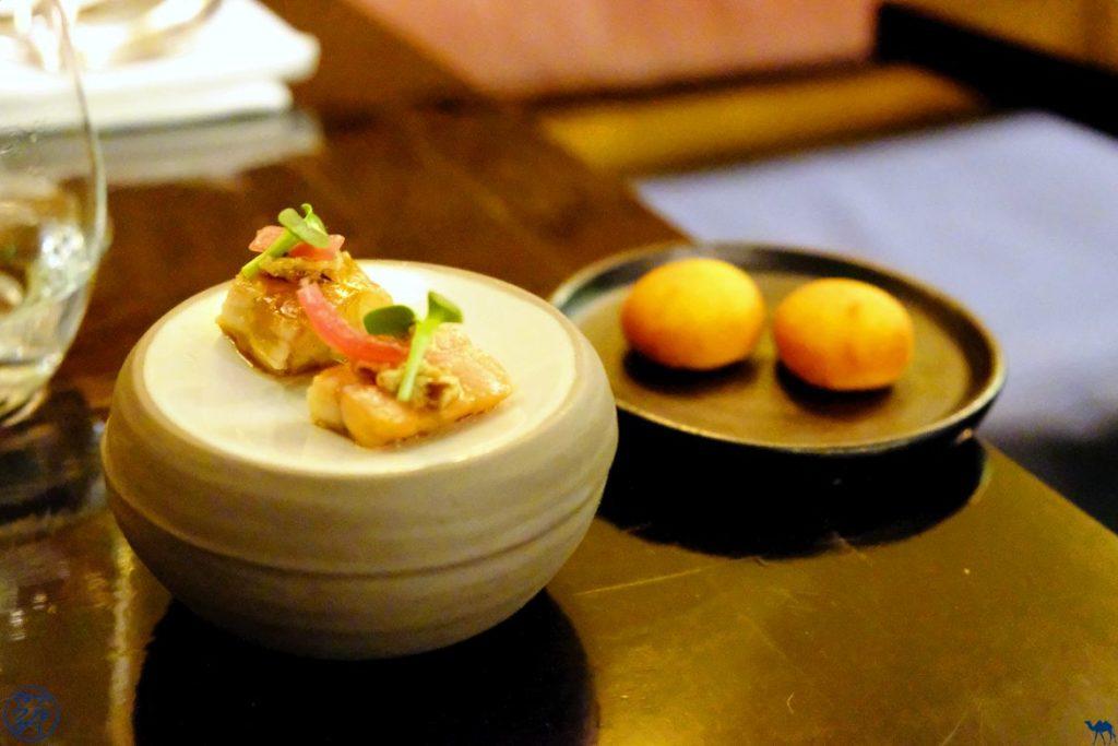 Le Chameau Bleu - Blog Gastronomie - Restaurant Gastronomique Uma à Paris - Amuse Bouche