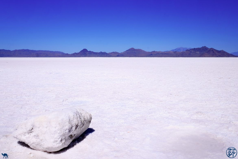 Le Chameau Bleu - Blog Voyage Utah - Lac de sel à Bonneville Flats