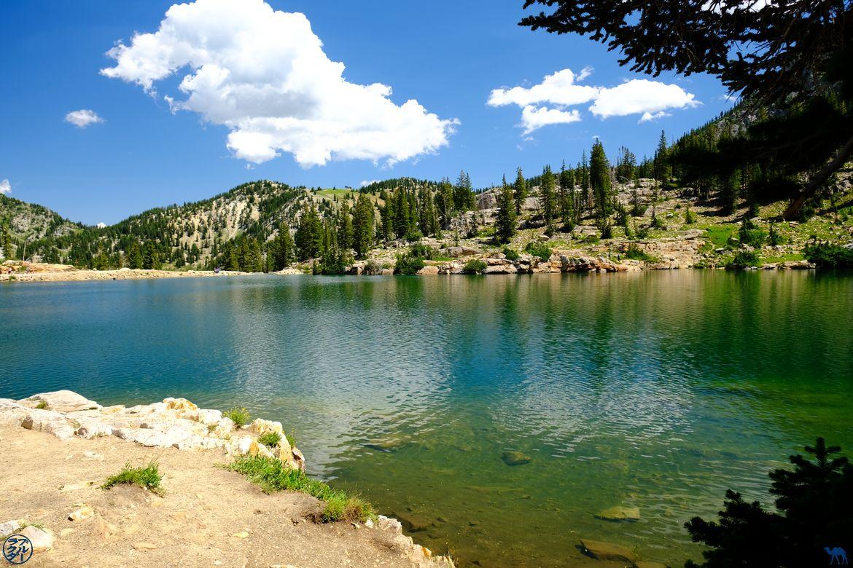Le Chameau Bleu - Blog Voyage Utah USA - Cecret Lake