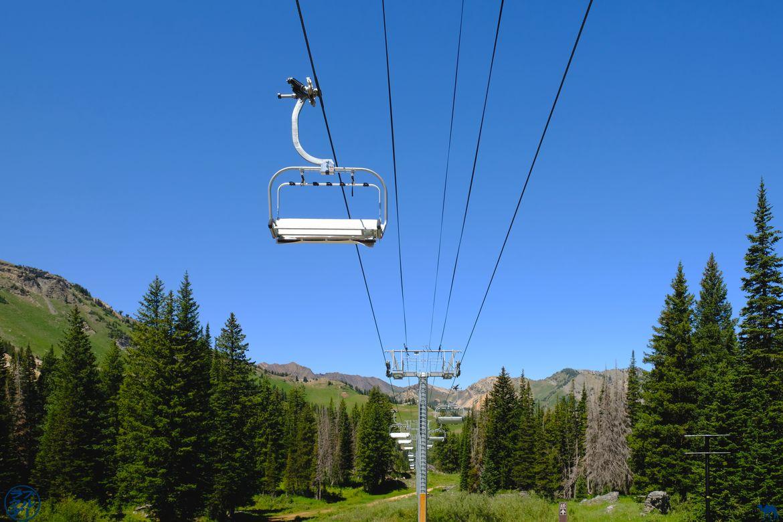 Le Chameau Bleu - Blog Voyage Utah USA - Station de ski de Cecret Lake
