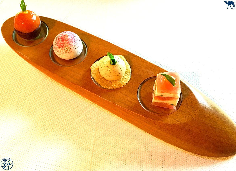 Le Chameau Bleu - Blog Gastronomie - Amuse bouche de l'Atelier d'Edmond Val d'Isère