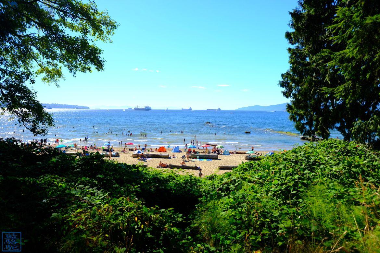 Le Chameau Bleu - Blog Voyage Vancouver Canada -Plage de Stanley Park