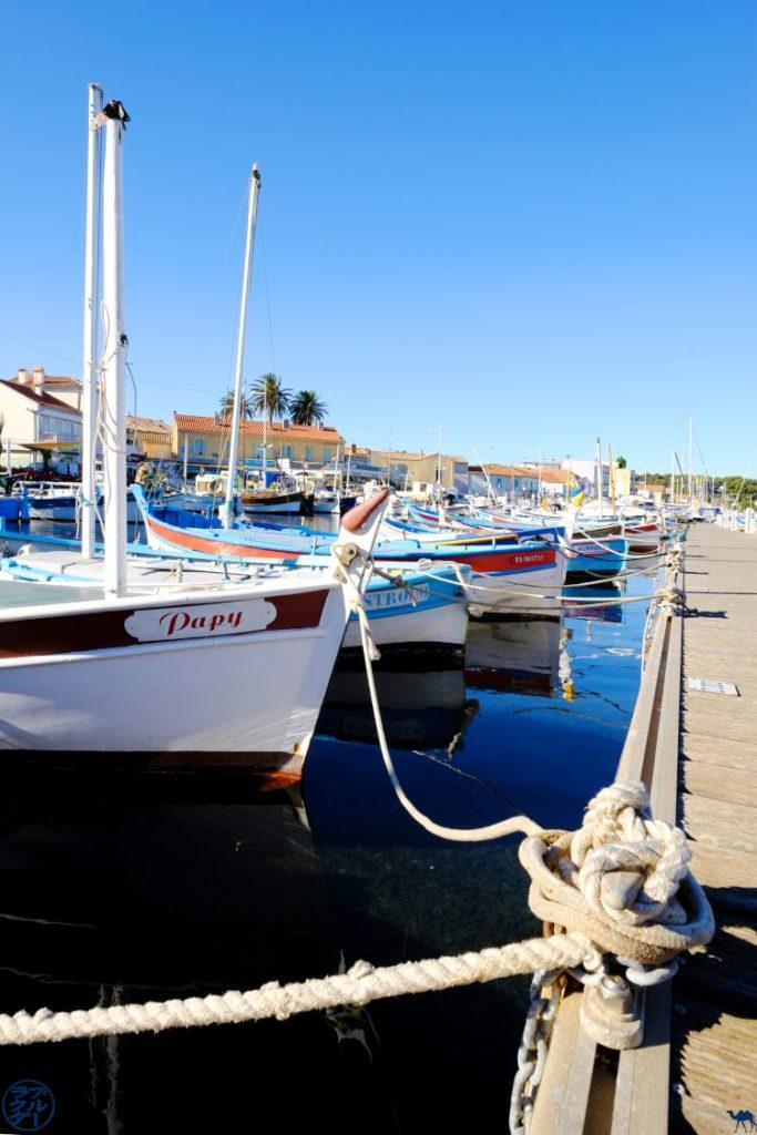 Le Chameau Bleu - Voyage France Var- Ponton Port de Peche du Brusc