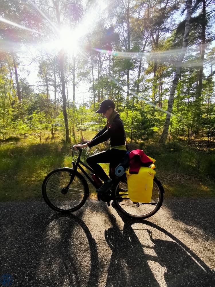 Le Chameau Bleu - Blog Voyage et Outdoor - Velo  au Danemark avec Legging Anita
