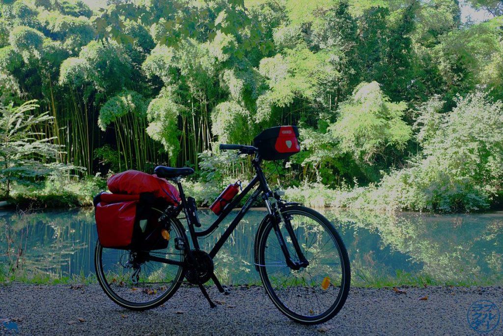 Le Chameau Bleu - Blog Voyage à Vélo Canal de l'Entre Deux Mers - Foret du Canal des Deux Mers - Lot et Garonne