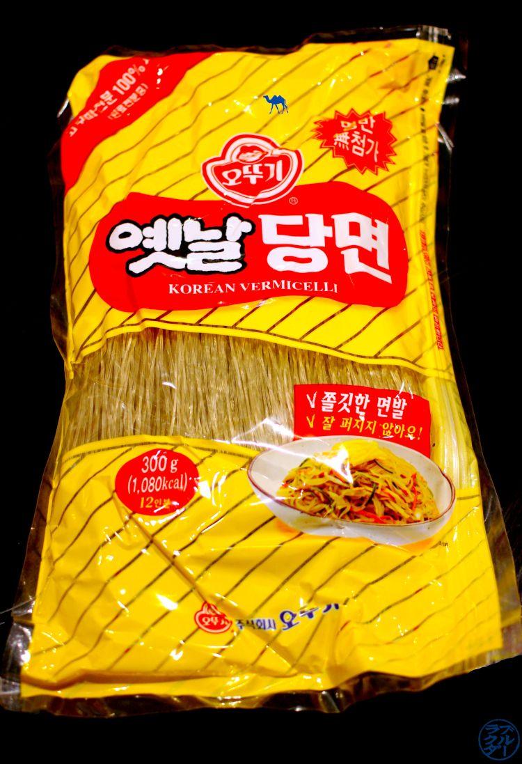 Le Chameau Bleu - Vermicelles de patate douce - Gastronomie coréenne