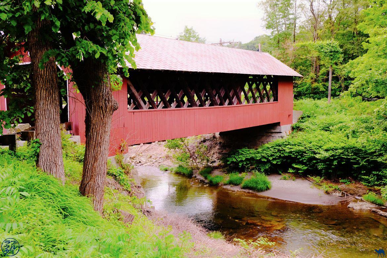 Le Chameau Bleu - Blog Voyage Brattleboro Vermont USA - Pont couvert de Brattleboro
