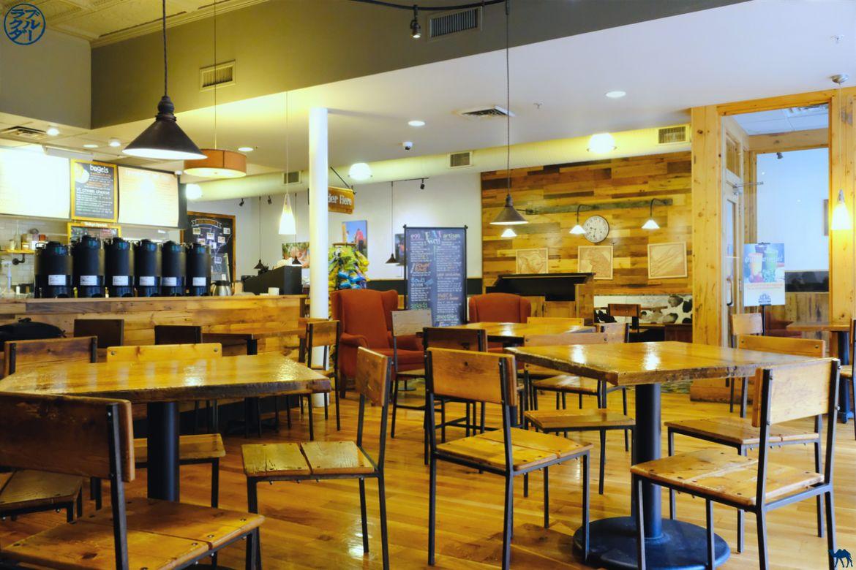 Le Chameau Bleu - Blog Voyage Brattleboro - Café the works