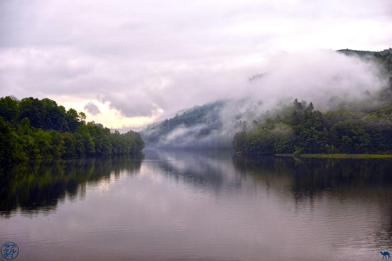 Le Chameau Bleu - Blog Voyage Vermont - Riviere de Brattleboro